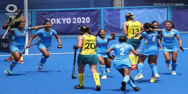 India stun Australia to create history by entering maiden Olympic hockey semifinals