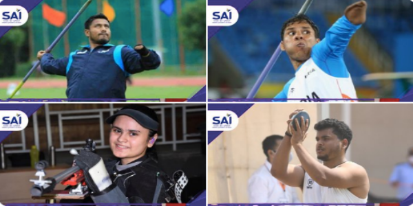 One gold, two silvers and a bronze for India at Tokyo Paralympics in just an hour! Let that sink in